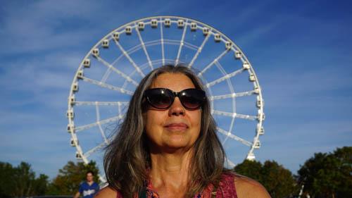 Kyra, Sun Glasses and Ferris Wheel